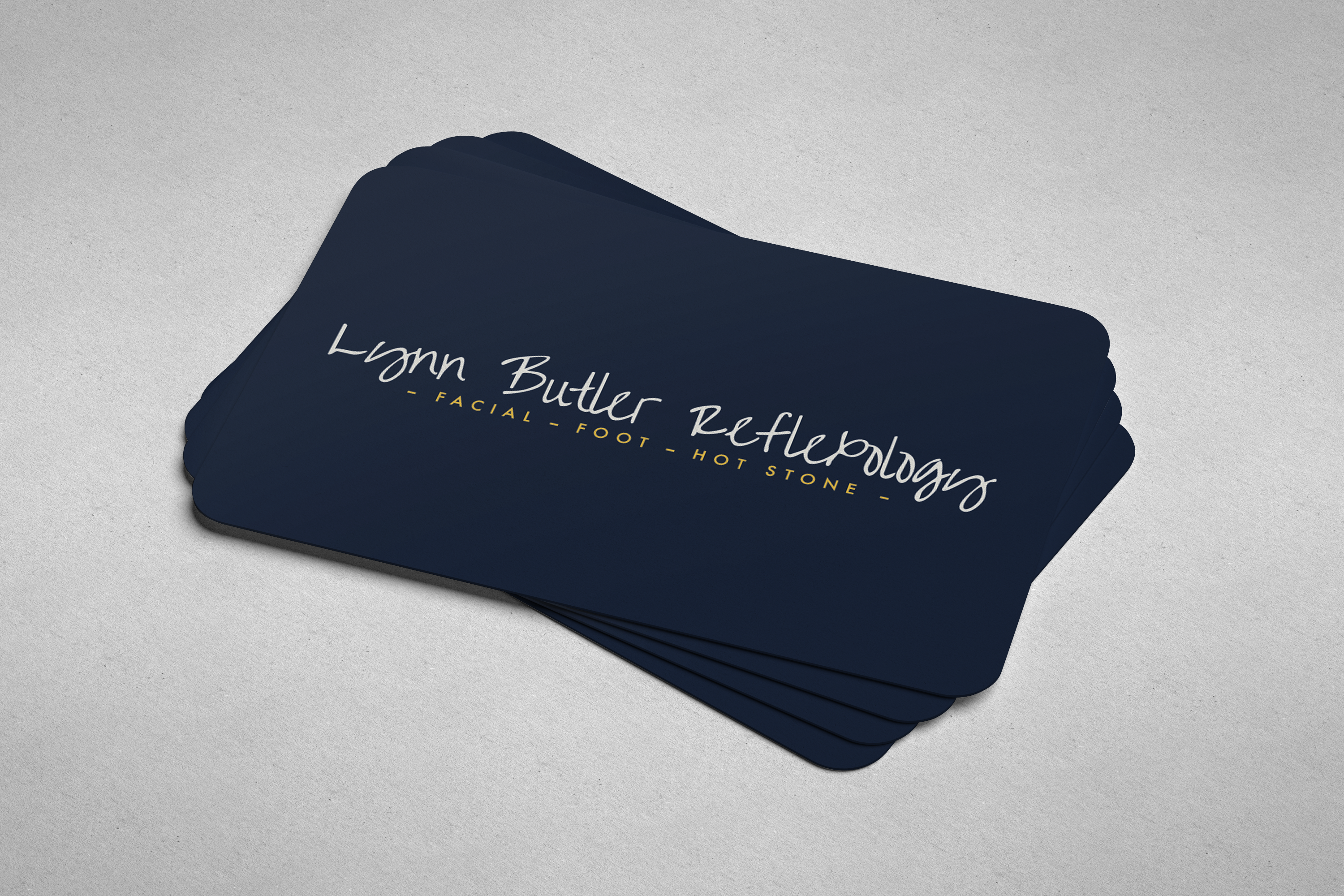Rounded corner business cards reheart Choice Image